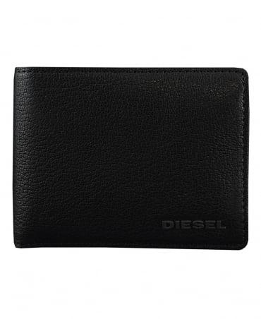 Diesel Black Hiresh Leather Wallet