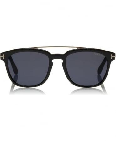 Tom Ford Black Holt Polarized Sunglasses