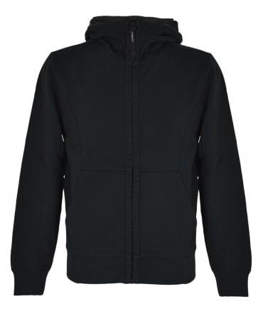 CP Company Black Hooded Goggle Sweatshirt