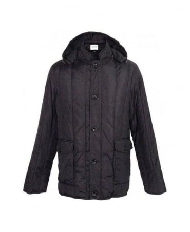 Armani Black Hooded Jacket