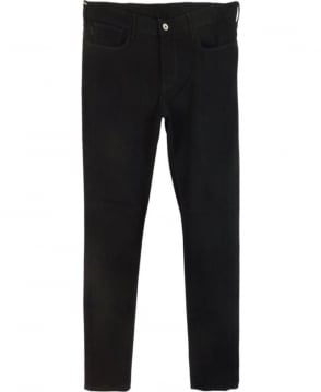 Armani Jeans Black 'J06' Slim Fit Jeans