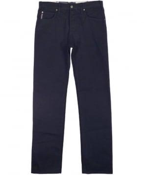 Armani Jeans Black J45 Regular Fit Jeans
