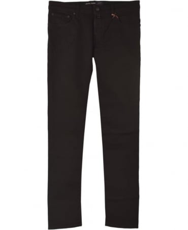 Black J622 COMF Fit Hand Made Jeans