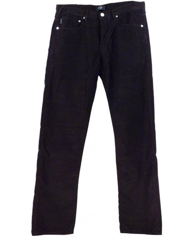 Paul Smith Black JNFJ-401M-B11 Taper Fit Cord Jeans