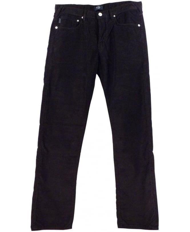 Paul Smith - Jeans Black JNFJ-401M-B11 Taper Fit Cord Jeans