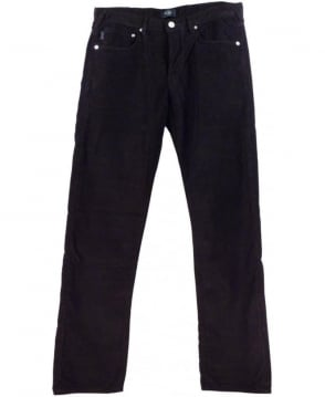 Paul Smith - Jeans Black JNFJ-401M-B11 Taper Fit Cord Jeans
