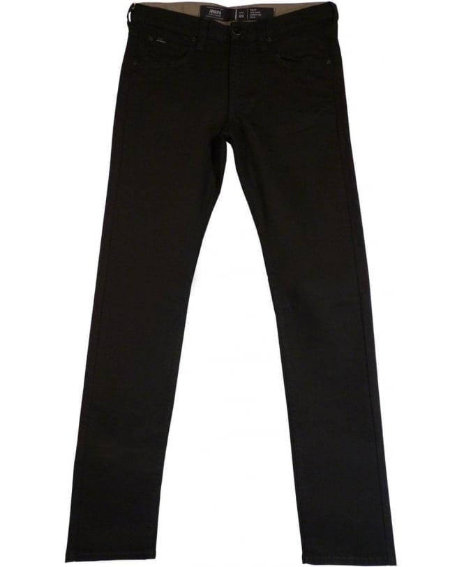 Armani Black JO6 Slim Fit Jeans