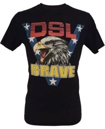 Diesel Black Joe Ab Eagle T-Shirt