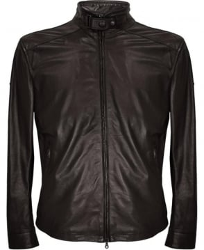 Matchless  Black 'Johnny' Leather Blouson
