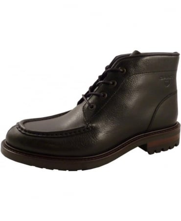 Gant Black Jules Four Eyelet Lace Up Boot