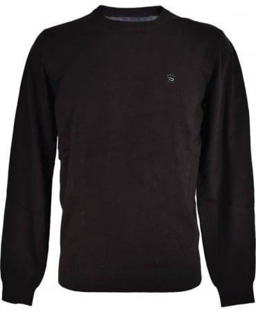 Diesel Black K-Maniky Crew Neck Knitwear