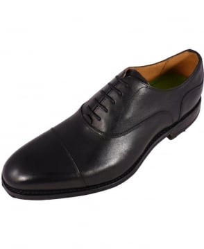 Oliver Sweeney Black Lace-Up Oxford Hessett Shoe