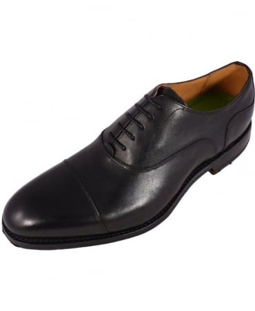 Black Lace-Up Oxford Hessett Shoe