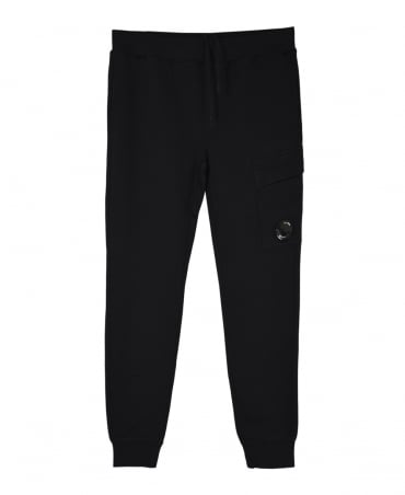 CP Company Black Lens 03CMSS053A Sweat Pants