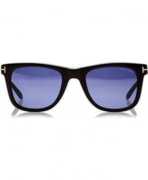 Tom Ford Black Leo Square Sunglasses