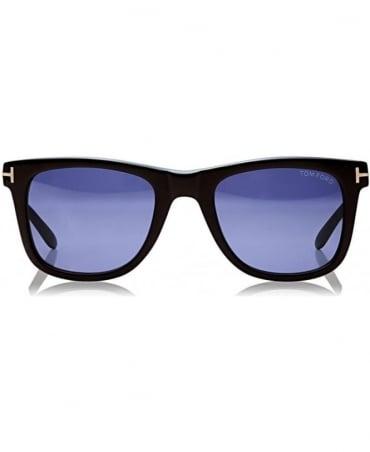 Tom Ford Black Leo Square Sunglasses