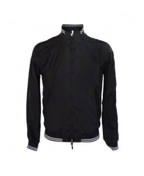 Armani Black Lightweight Slim Fit Blouson
