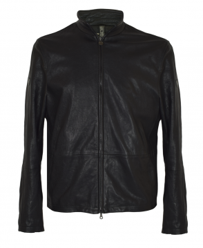 Matchless  Black Limited Edition Craig Blouson Leather Jacket