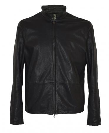 Matchless  Black Limited Edition Craig Blouson Leather Jacket