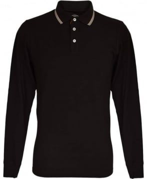 Colmar Originals Black Long Sleeved MU7645W Polo