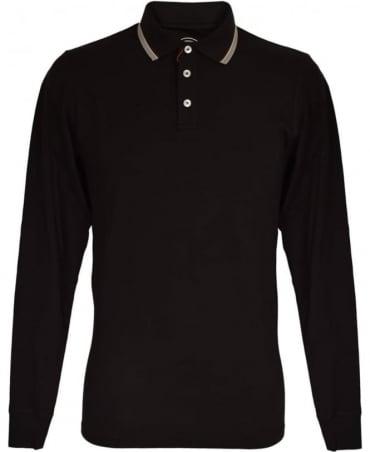 Colmar Originals Black Long Sleeved MU7645W Polo