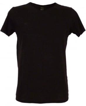 Replay Black M6882 Sleeve Logo T-shirt