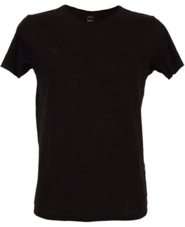 Replay Black M6882 Sleeve Logo T-shirt