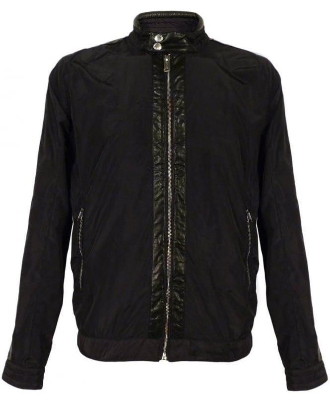 Replay Black M8738 Lightweight Jacket