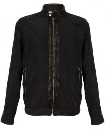 Black M8738 Lightweight Jacket