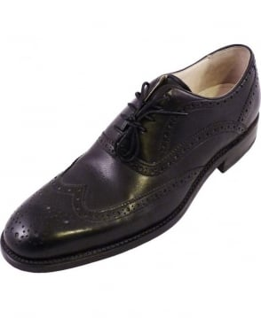 Oliver Sweeney Black Mellin Leather Shoes