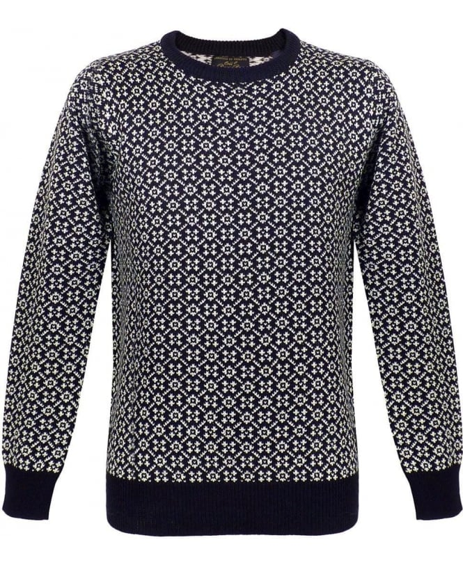 Scotch & Soda Black Micro Knit Pullover