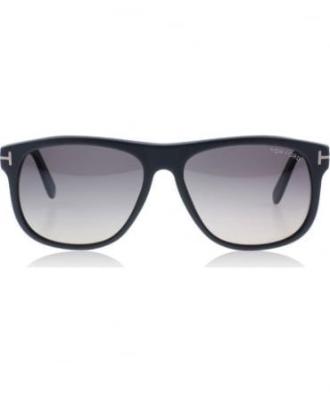 Tom Ford Black Olivier 02D Soft Square Sunglasses