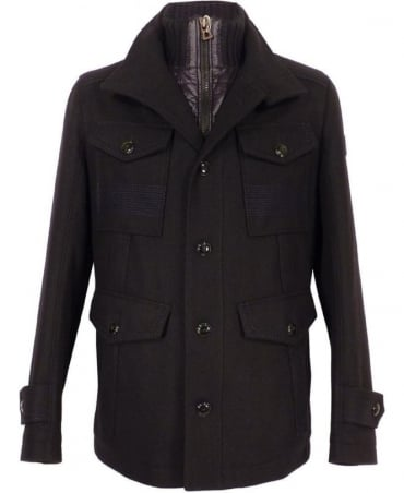 Black Orfey Single Breat Coat