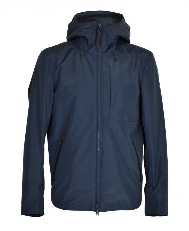 Black Pacific Hooded Jacket