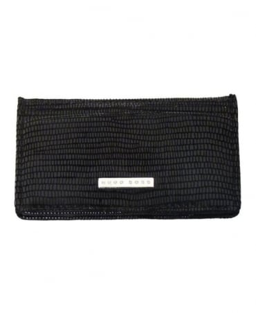Hugo Boss Black Patent Card Holder
