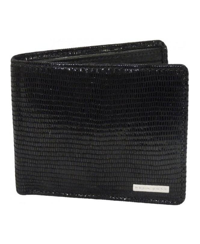 Hugo Boss Black Patent Leather Wallet