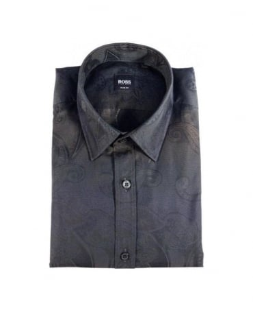 Hugo Boss Black Pattern Ronny Shirt