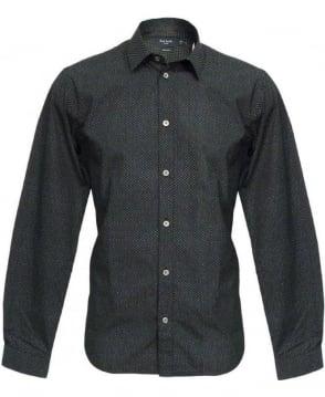 Paul Smith  Black Pattern Shirt JKCJ/667M/130P