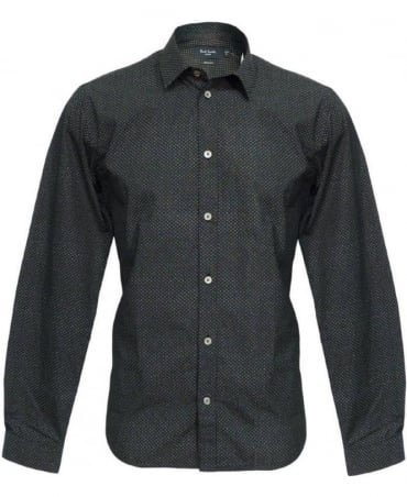 Paul Smith - Jeans Black Pattern Shirt JKCJ/667M/130P