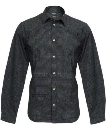 Paul Smith - Jeans Black Pattern Shirt JKCJ/667M/130P