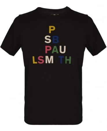PS By Paul Smith Black PSXD-011R-P10609 'Triangle' T-Shirt