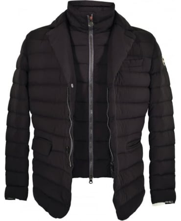 Colmar Originals Black Quilted Detatchable Insert Blouson