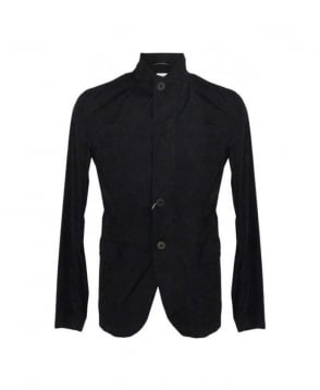 Armani Black Regular Fit Packable Blouson