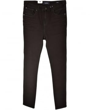 Scotch & Soda Black Rinse Super Skinny Fit Dart Jeans