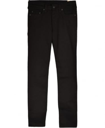 True Religion Black 'Rocco' Skinny Jean