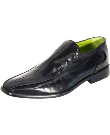 Oliver Sweeney Black Rome Slip On Shoes
