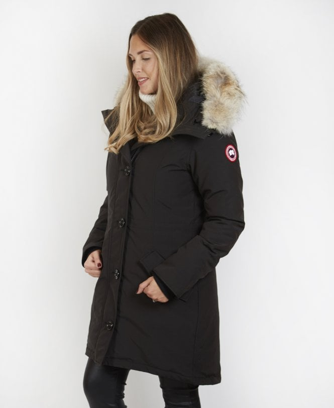 Canada Goose Black  Rossclair  Parka Coat - Outerwear from Jonathan  Trumbull UK 902157d6f3