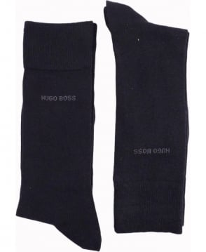 Hugo Boss Black RS Design Two Pack Socks