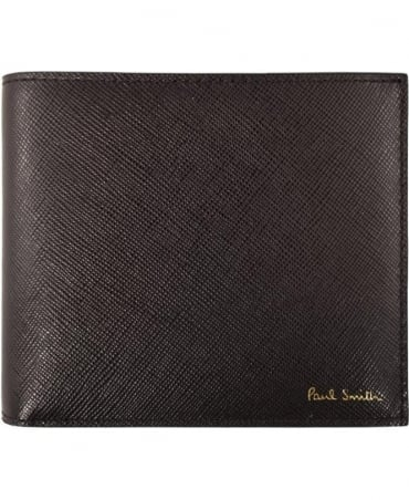 Paul Smith  Black Saffiano ASXC-4832-W804 Billfold Wallet