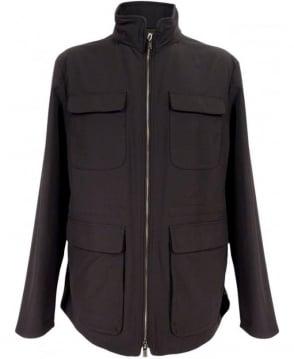 Armani Black SCG17W Turtle Neck Jacket